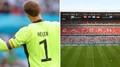 Manuel Neuer a stadion Bayernu