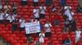 Fotbaloví fanoušci ve Wembley