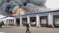 Kontrolovaný požár skladů