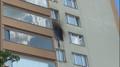 Požár bytu v Praze
