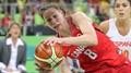Kanadská basketbalistka Kim Gaucherová