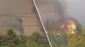 U Atén vypukl obrovský požár, tisíce lidí bylo evakuováno