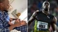 Běžec Usain Bolt s potomkem