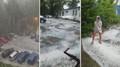 Extrémní změny počasí, v Jihlavě padaly kroupy