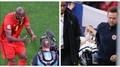 Romelu Lukaku a Christian Eriksen ve stabilizovaném stavu