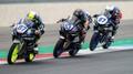 Petr Svoboda (uprostřed) při závodě mistrovství světa superbiků
