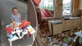 Holčička pomáhá prodejem svých plyšáků