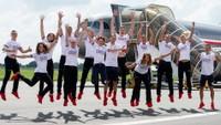 Čeští olympionici přiletěli do Tokia