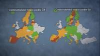 Cestovatelská mapa po EU