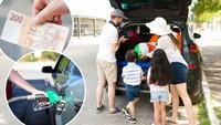 Kolik zaplatí motoristé při cestách na dovolenou