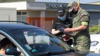 Kontroly na slovenských hranicích
