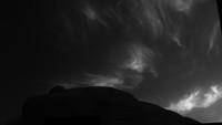 Svítící oblaka na Marsu