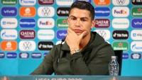 Cristiano Ronaldo na tiskové konferenci