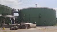 Hořela bioplynka