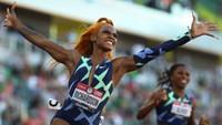 Americká sprinterka Sha