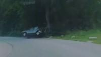 Opilý řidič naboural