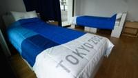 Olympijská postel v Tokiu