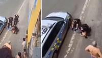Policie v Teplicích zaklekla agresora