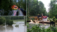 Bouřky a povodně v Česku