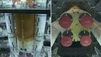 NASA se připravuje k cestě na Měsíc, zveřejnila záběry své nové rakety
