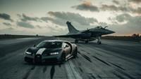Bugatti Chiron Sport vs. armádní stíhačka - 15