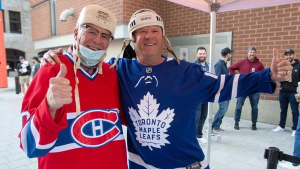 Fanoušci kanadských klubů