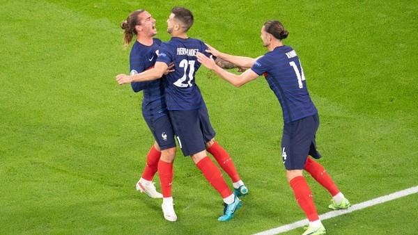 Radost fotbalistů Francie