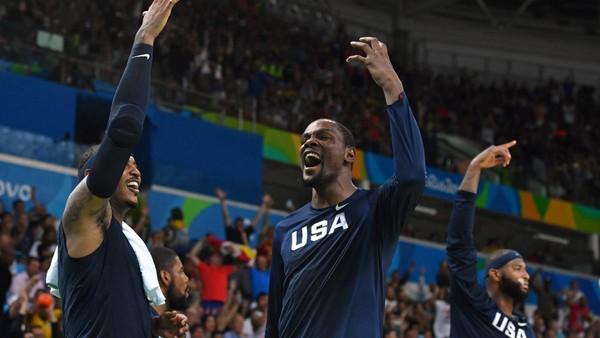 Basketbalisté USA