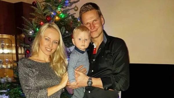 Petr Janda, manželka Lenka a syn Jakoubek