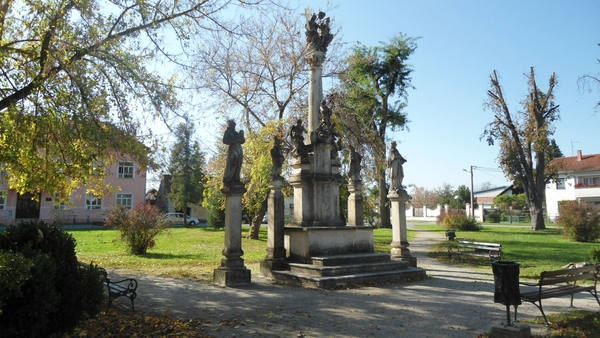 Park ve městě Legrad
