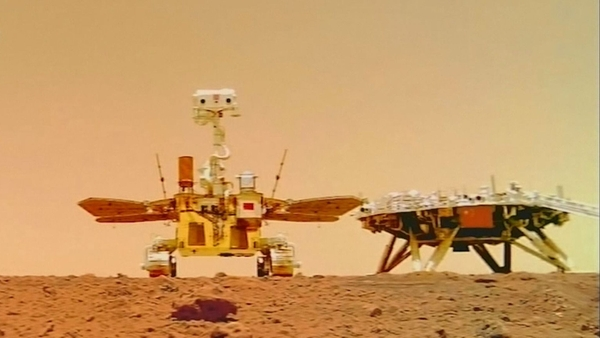 Čína zveřejnila fotky z Marsu
