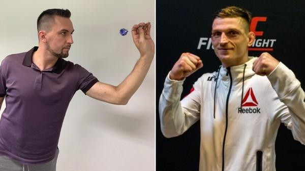 Moderátor TV Nova Petr Plintovič vs. UFC zápasník David Dvořák