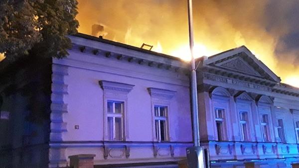 Požár v Havlíčkově Brodě - 3