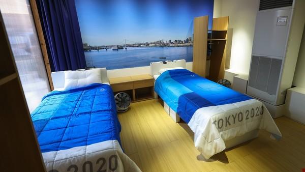 Pokoj olympioniků v Tokiu