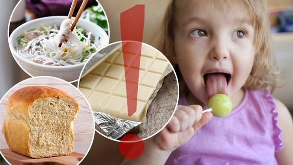 Potraviny obsahující E171