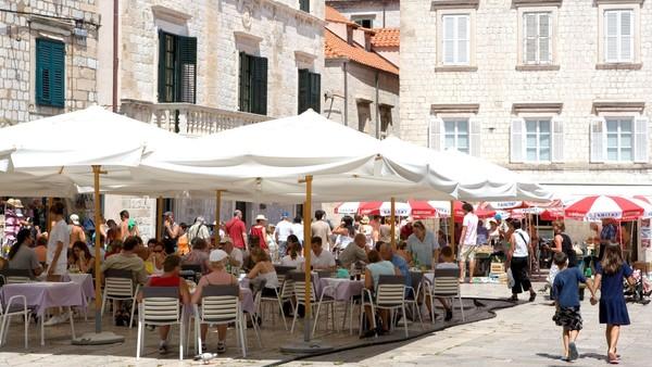 Chorvatsko - rozvolnění