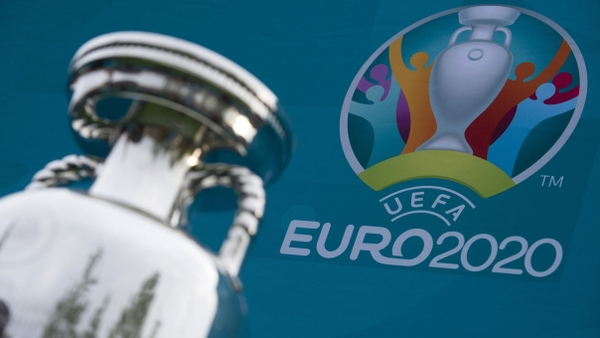 Logo a trofej pro EURO 2020