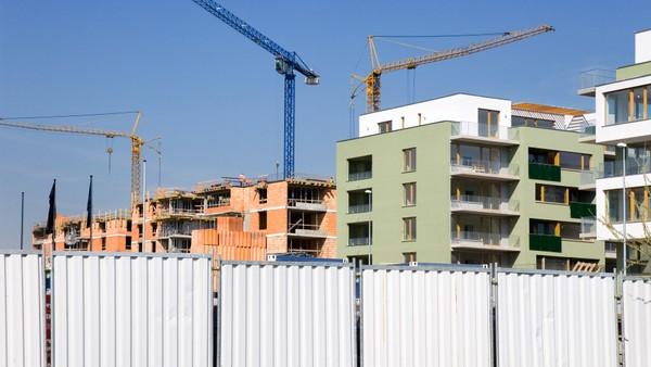 Výstavba bytů - ilustrační