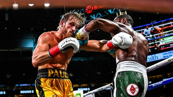 Boxerský zápas Floyd Mayweather vs. Logan Paul