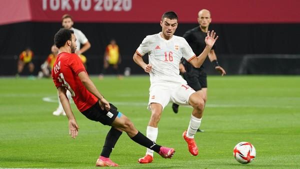 Španěl Pedri v zápase proti Egyptu