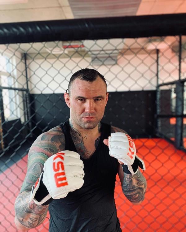 MMA zápasník Tomasz Romanowski