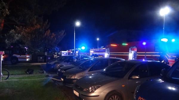 Hasiči na Žďársku vyjeli k požáru bytu, našli mrtvého muže
