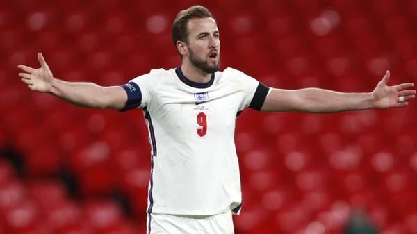 Anglický fotbalista Harry Kane