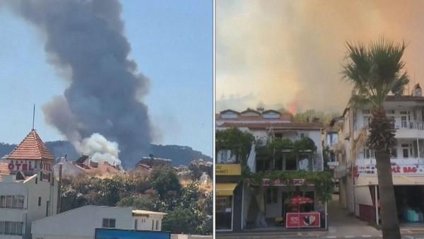 Požáry dál pustoší Turecko. Šest mrtvých, tisíce evakuovaných. Trpí i Češi