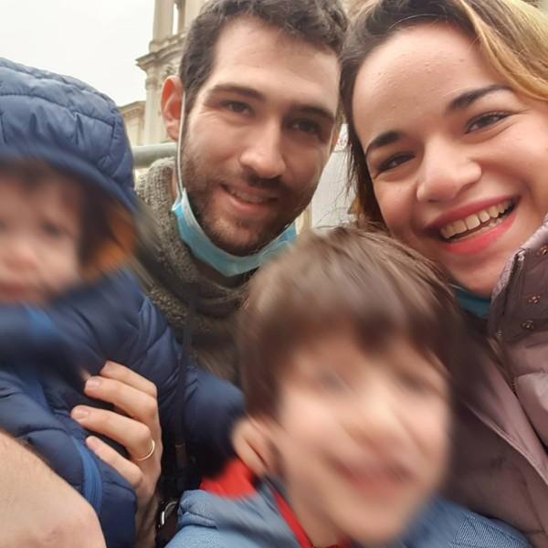 Izraelská rodina z italské lanovky
